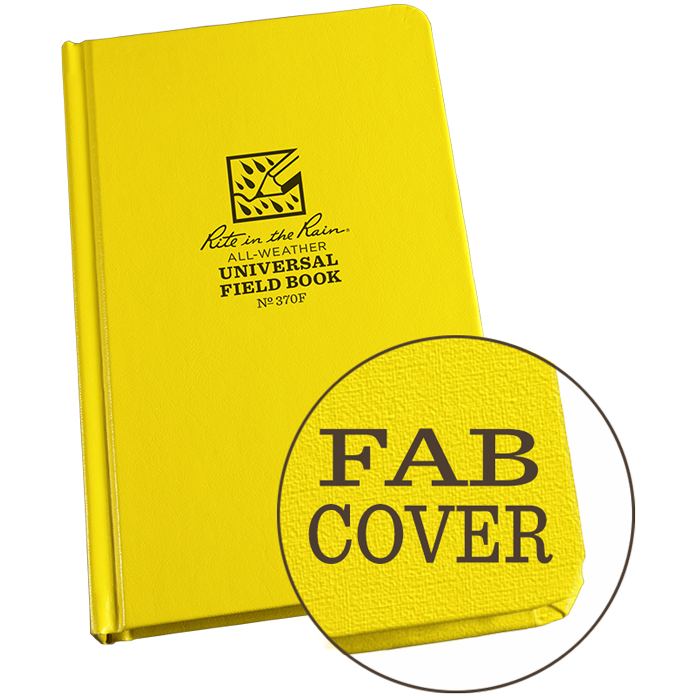 "Universal Bound Book Fab Cover 4 3/4"" x 7 1/2"" #370F"