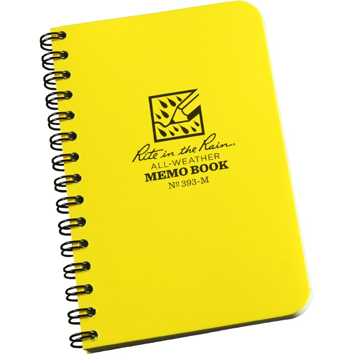 Side Spiral Memo Notebook #393-M