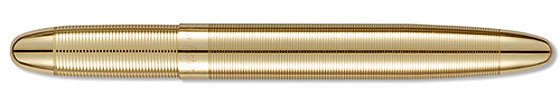 Brass Lacquer Fisher Bullet Space Pen #400G