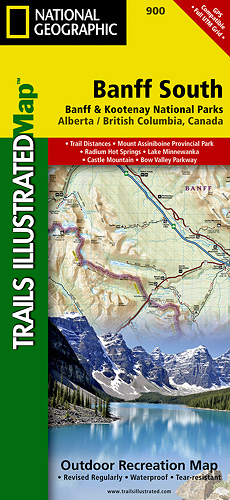 Trails Illustrated Banff South