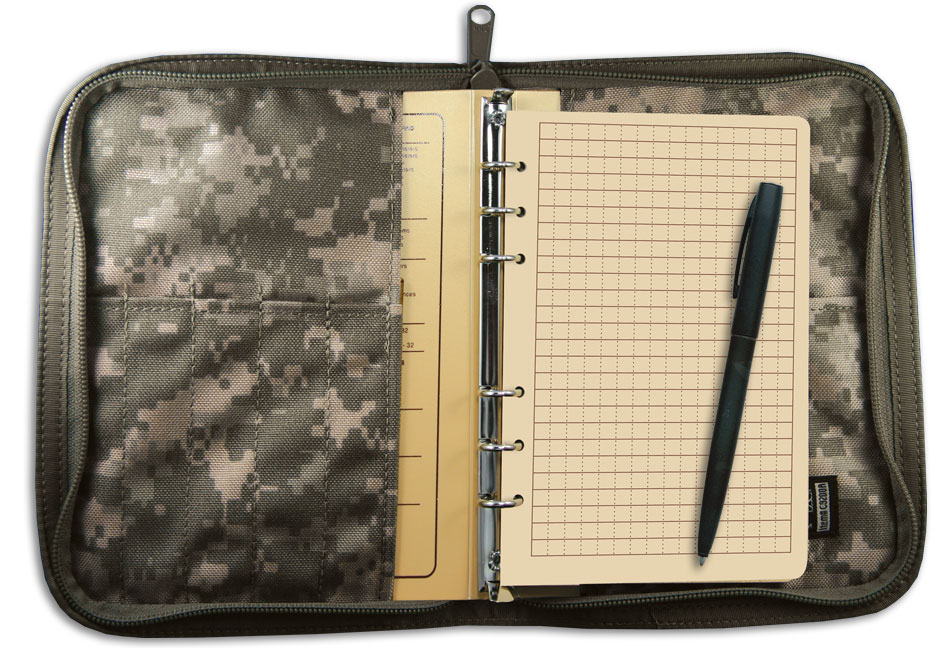 Tactical Field Ring Binder Kit ACU 9200A-KIT