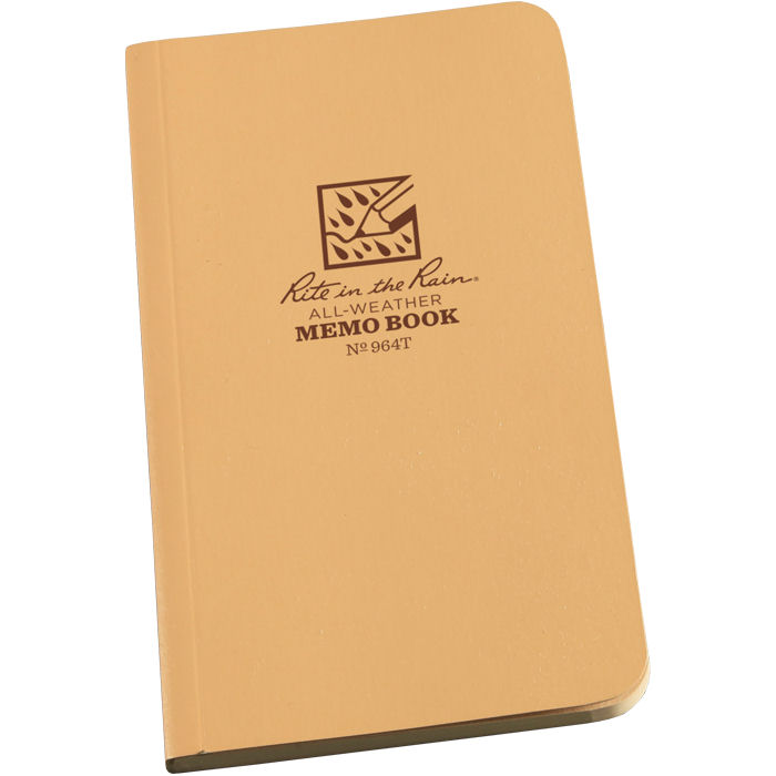 Tactical Memo Books Tan 3.5 x 6 #964T
