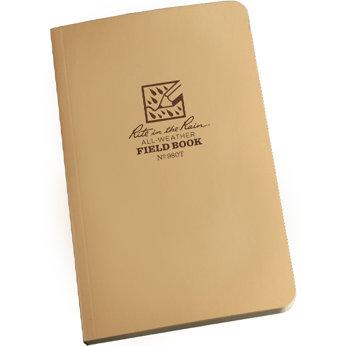 Tactical Field Book Kit Tan Cover 980T-KIT