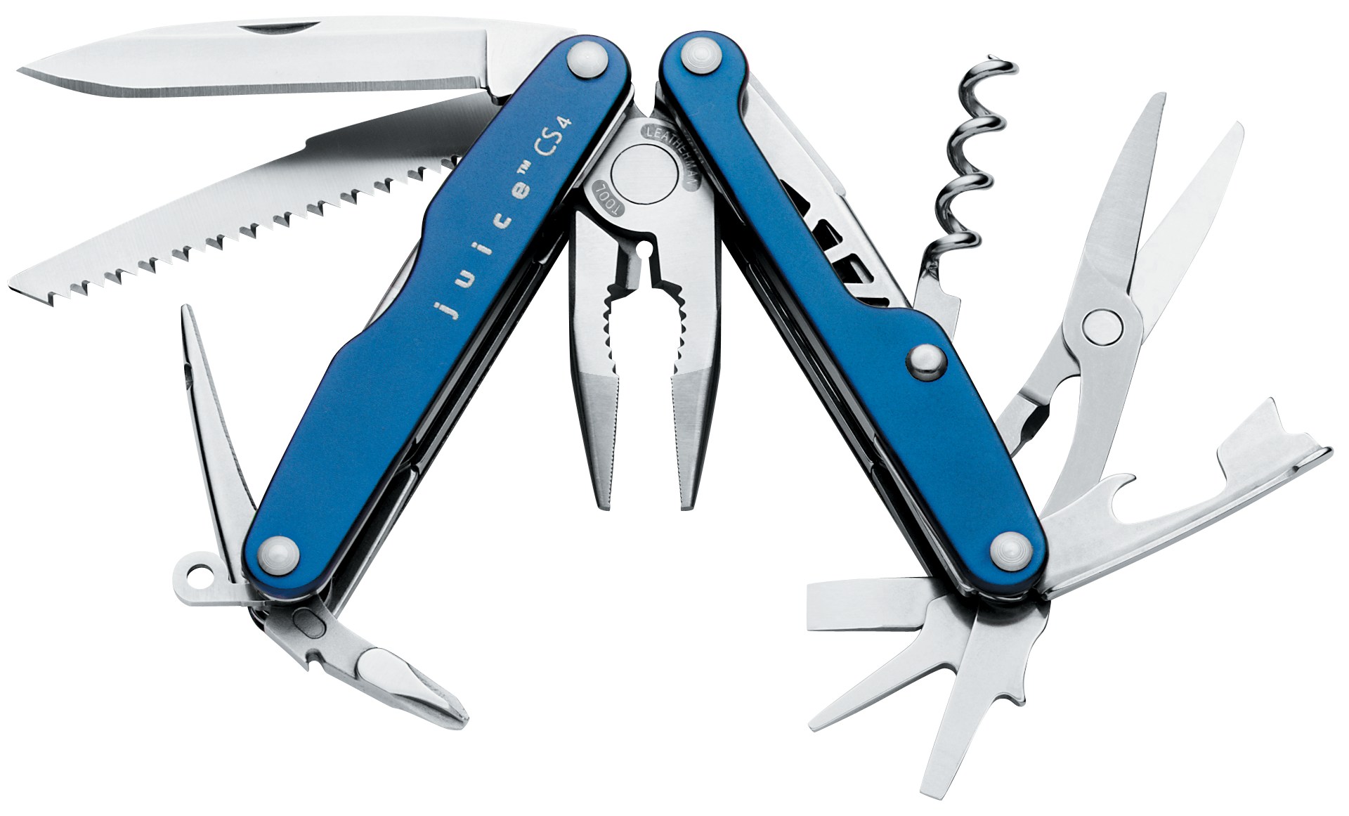Leatherman Juice CS4 Multi Tool Glacier Blue