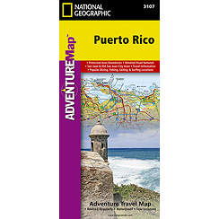 National Geographic Adventure Map Puerto Rico