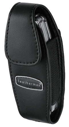 Leatherman Juice Black Leather Sheath
