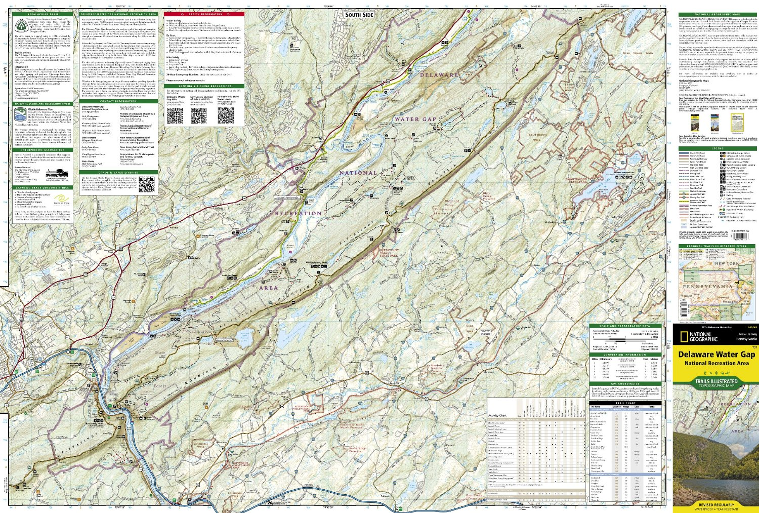 Delaware Water Gap National Recreation Area [ti737] - $10.95 : Trail on