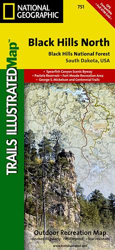 Black Hills-Northeast [ti751] - $9.95 : Trail Explorers Outpost ...